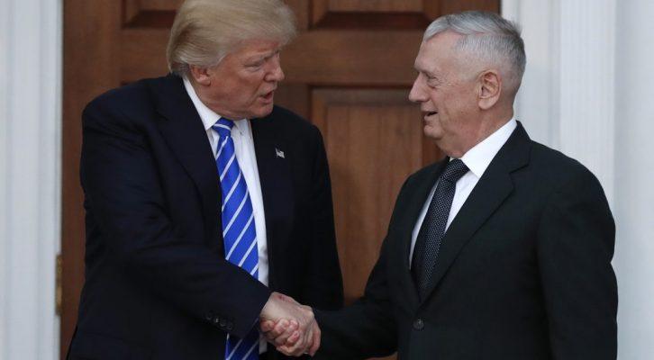 Confirman a James Mattis al frente del Pentágono