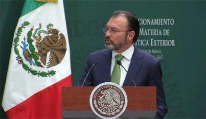 Unidad y objetivos claros permitirán buenos resultados en negociación EUA: Luis Videgaray
