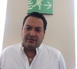Chicovel: Criticó el jefe de los regidores priistas las designaciones de Marcos Aguilar. FOTO: FERNANDO VENEGAS RAMÍREZ