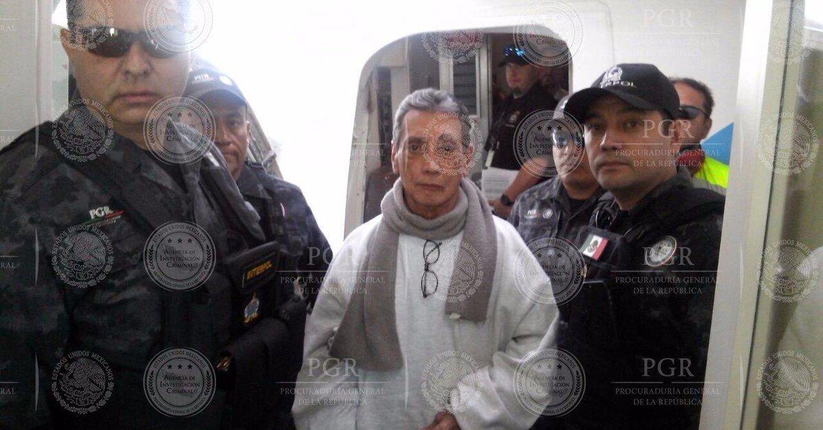 PGR detiene al ex gobernador Mario Villanueva al llegar a la CDMX