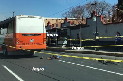 Urbano mata a ciclista en Zaragoza