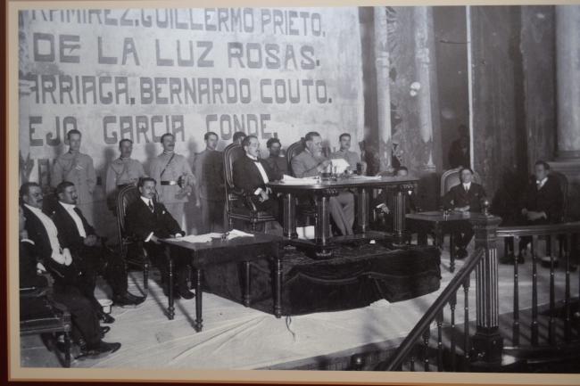 Teatro de la República atestiguó la promulgación de la Constitución
