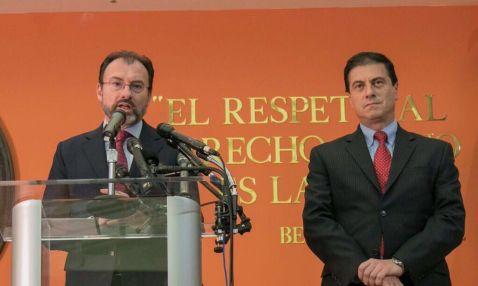 Videgaray viaja a La Habana tras visita a EU