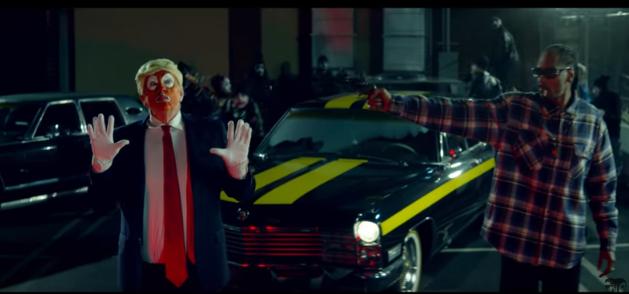 Trump critica a Snoop Dogg por polémico video