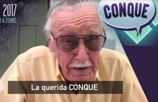 Confirma Stan Lee que estará en Conque 2017