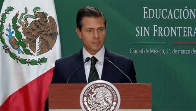 Peña Nieto promulga reformas a la Ley General de Educación