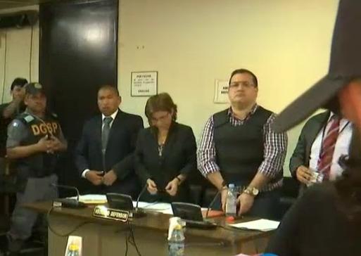 Duarte pasaría hasta 55 años en prisión; preparan solicitud de extradición