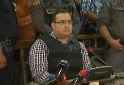 Javier Duarte se reserva derecho de allanarse a extradición