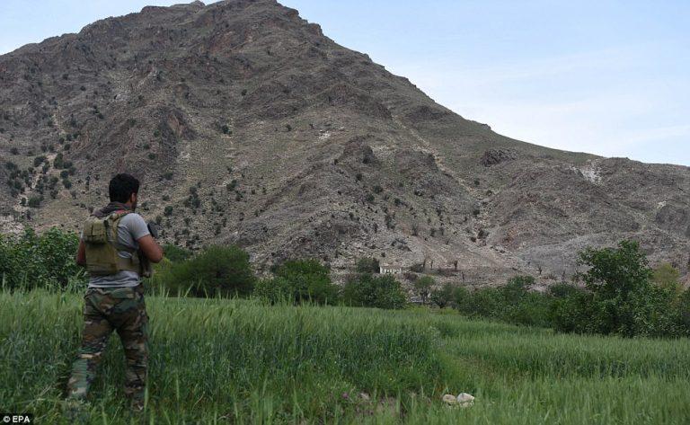 28 muertos del EI en zona afgana donde cayó bomba de EEUU