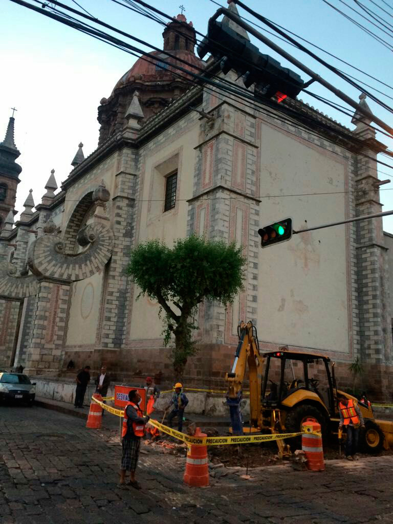 Inicia Municipio obras en Av. Ezequiel Montes