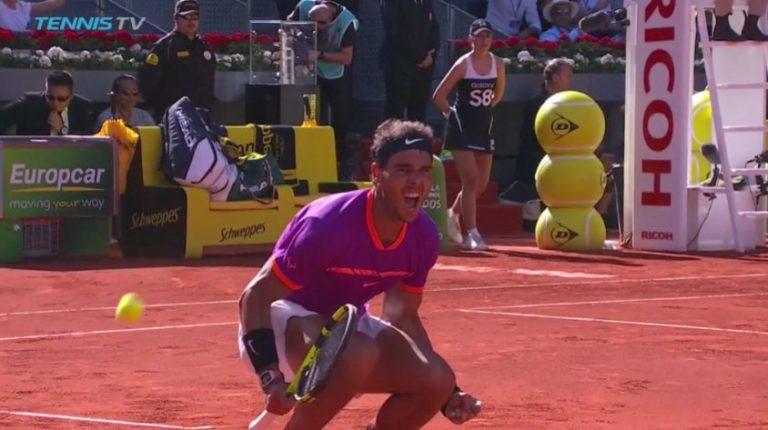 Nadal elimina a Djokovic en el Abierto de Madrid