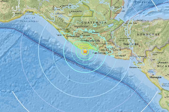 Sismo de 6.5 grados sacude Chiapas