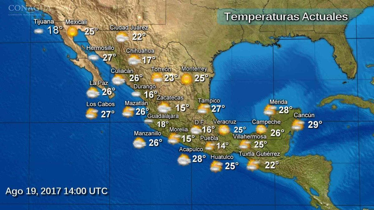 Prevén tormentas muy fuertes para Chihuahua, Durango, Nayarit, Jalisco y Michoacán