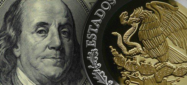 Dólar cotiza a la venta en 18.54 pesos en el AICM