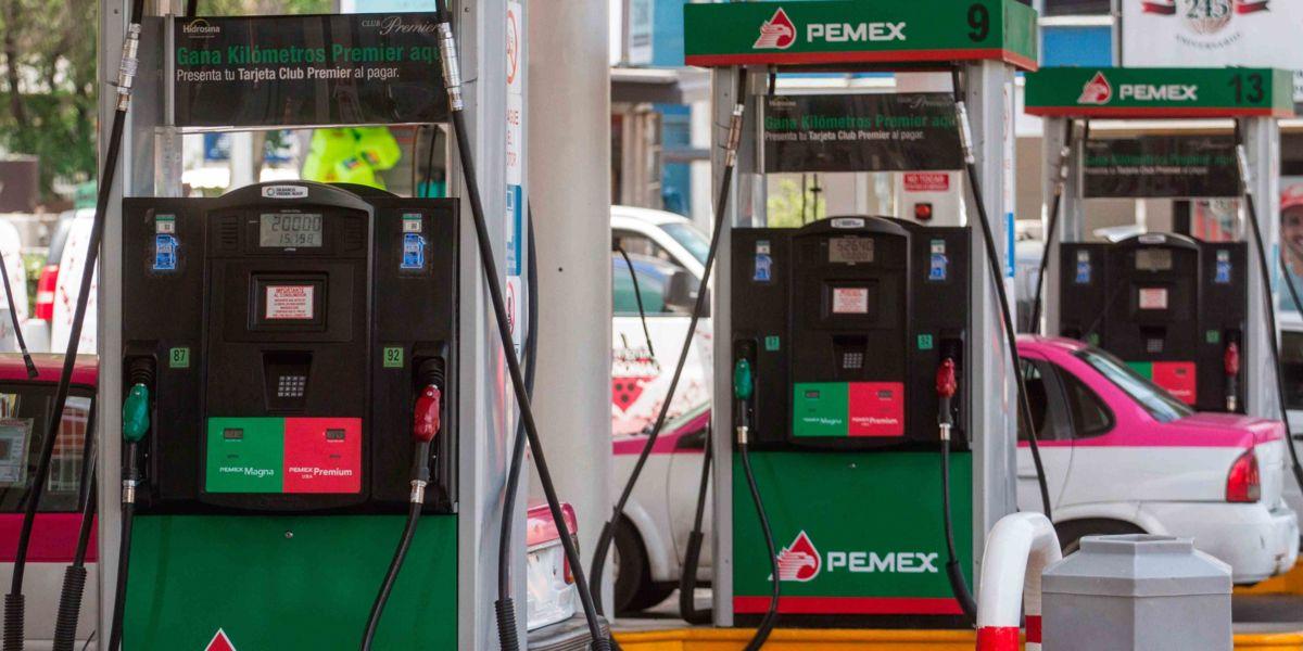 Precio de gasolinas se mantiene sin cambios este viernes