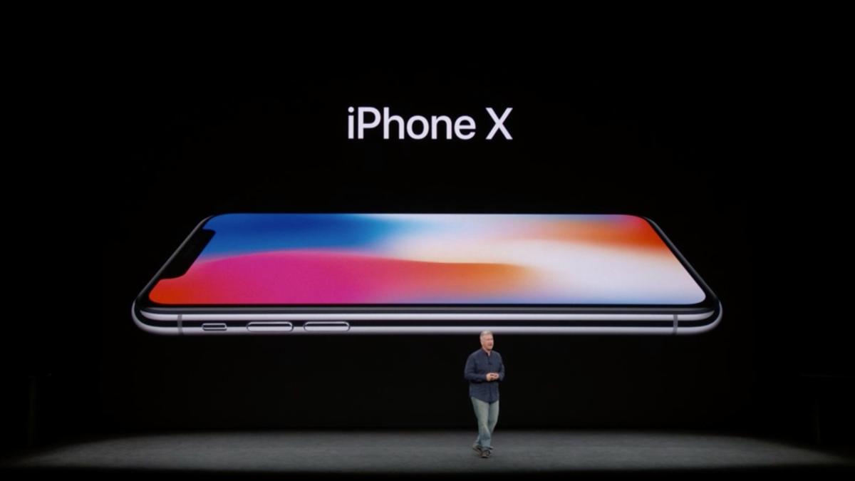 Apple presenta el nuevo iPhone X de pantalla completa