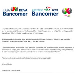 FMF suspende todas las competencias por el sismo - Plaza de Armas ... c32fda04cee77