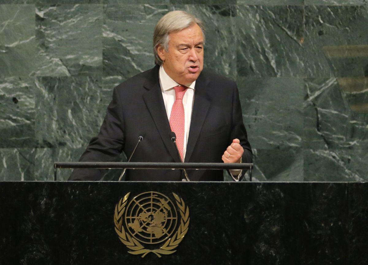 Guterres critica 'hostilidad abierta' contra refugiados y pide solidaridad