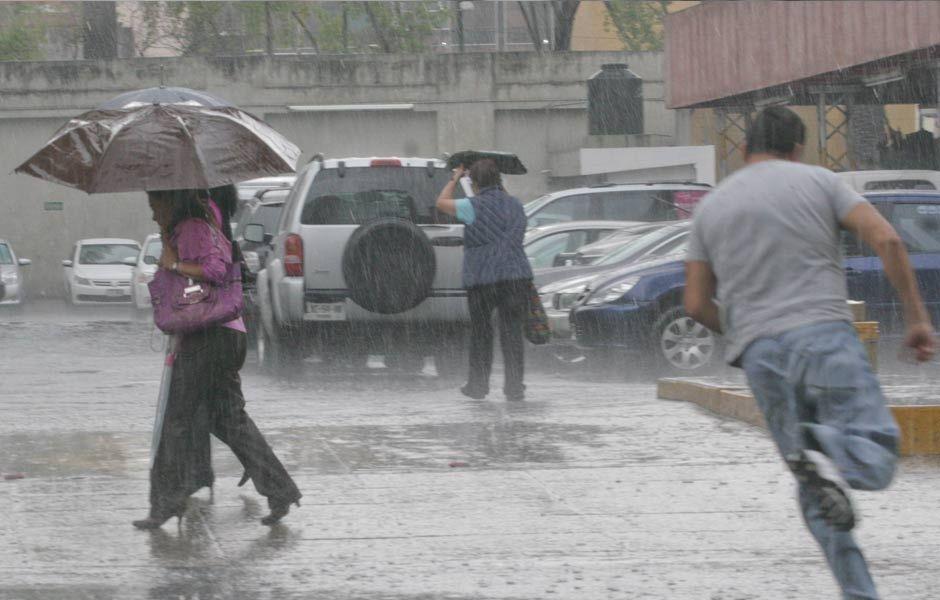Prevén lluvias en gran parte del país