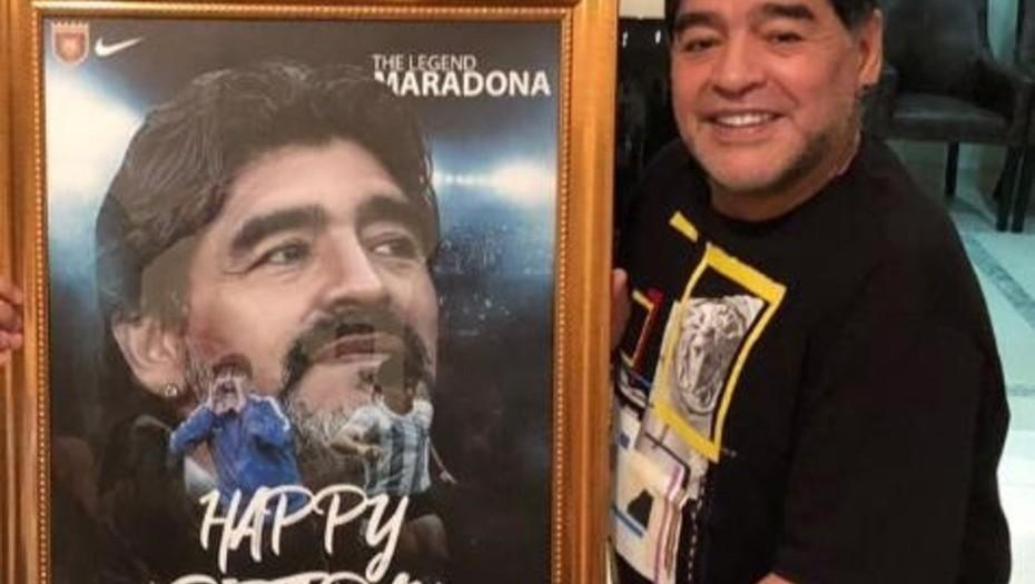 """""""No me arrepiento de nada"""": Maradona"""