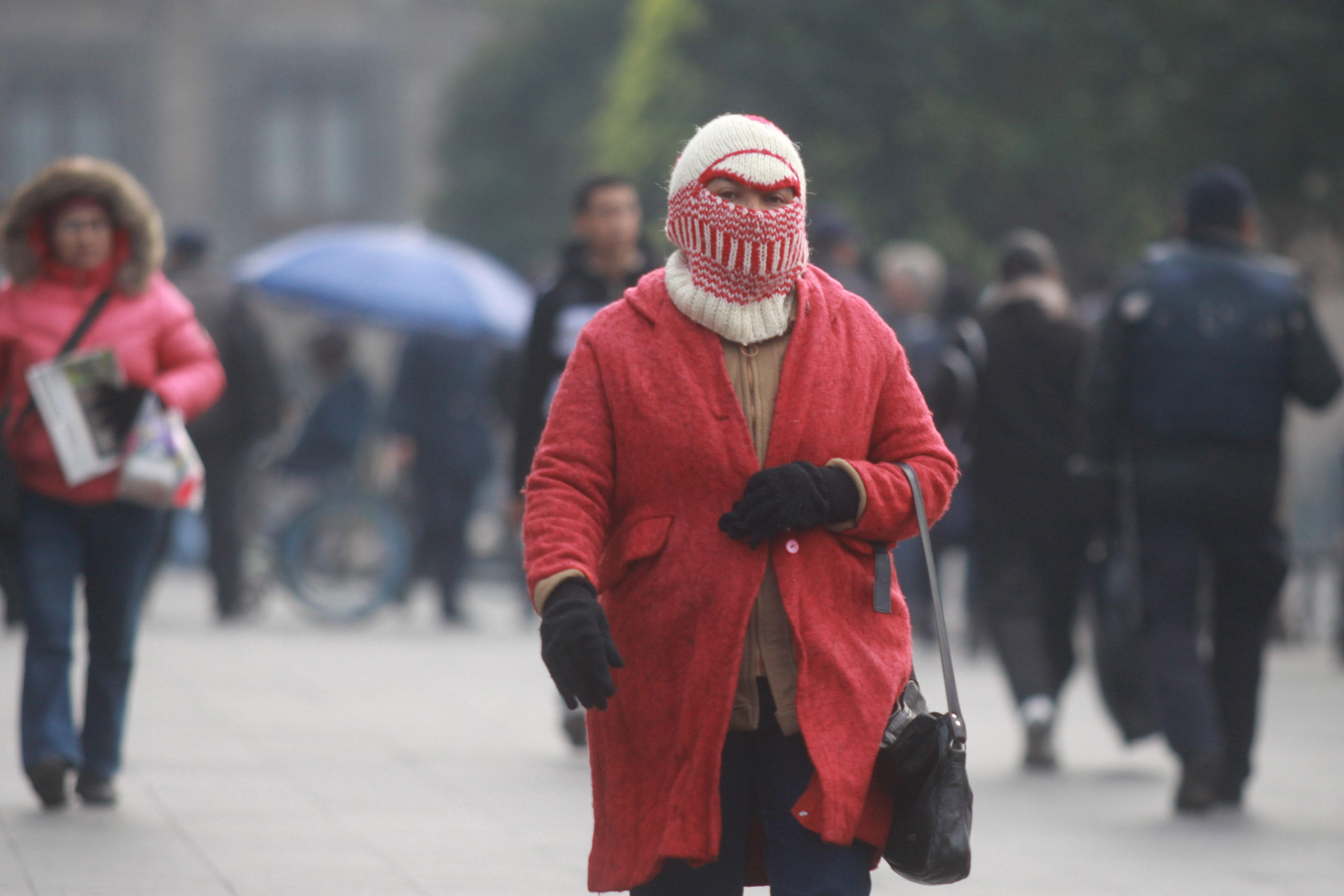 Prevén temperaturas bajo cero en 16 estados del país