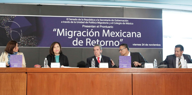 Senado y Ejecutivo Federal fijarán la postura ante el Pacto Global de Migración y Refugiados de la ONU