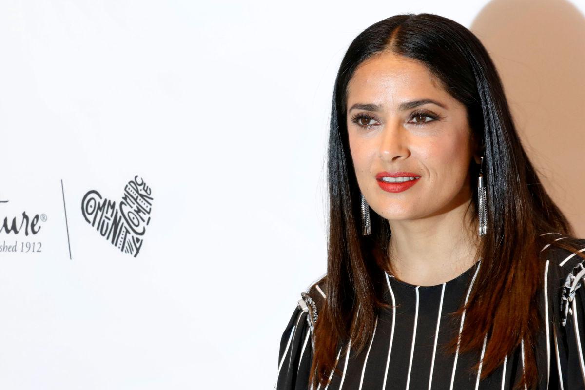 Salma Hayek habla del acoso sexual que sufrió por parte de Weinstein
