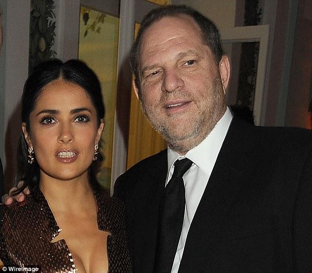 """Harvey Weinstein abusó de mí y me amenazó de muerte"": Salma Hayek"