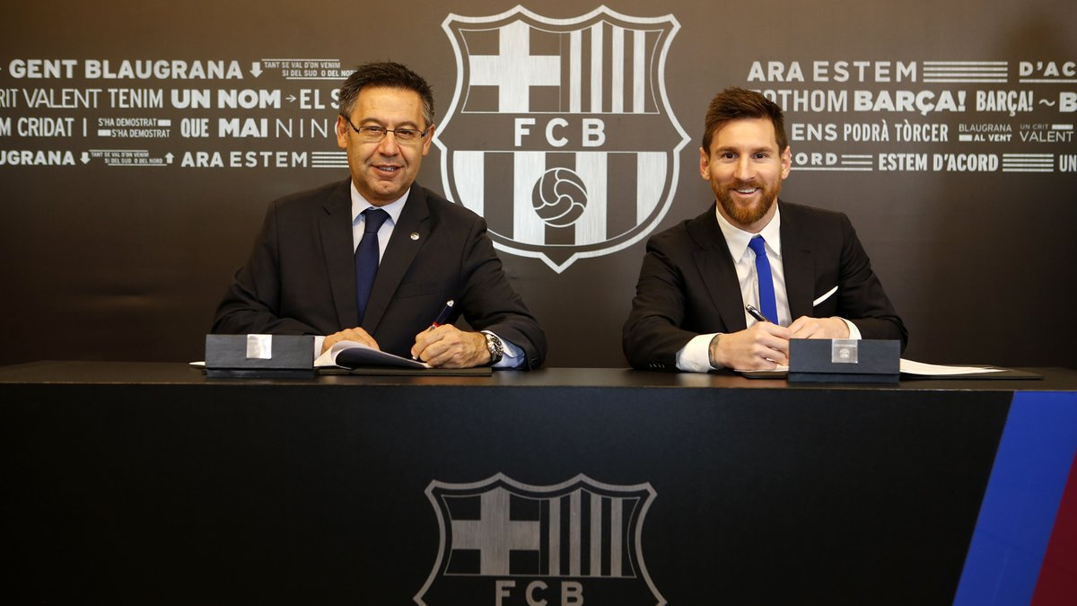 Messi cobrará 70 por ciento más que Cristiano Ronaldo tras renovación