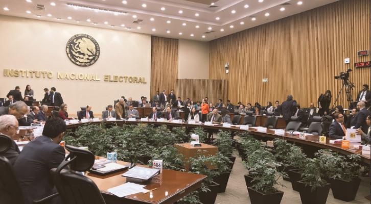 Consejo General del INE da luz verde a coalición 'Todos por México'