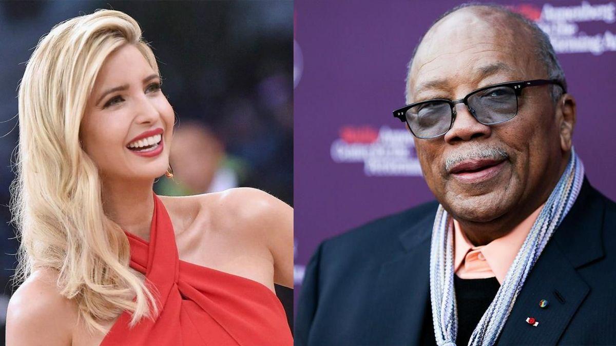 Afirma Quincy Jones que salió con Ivanka Trump
