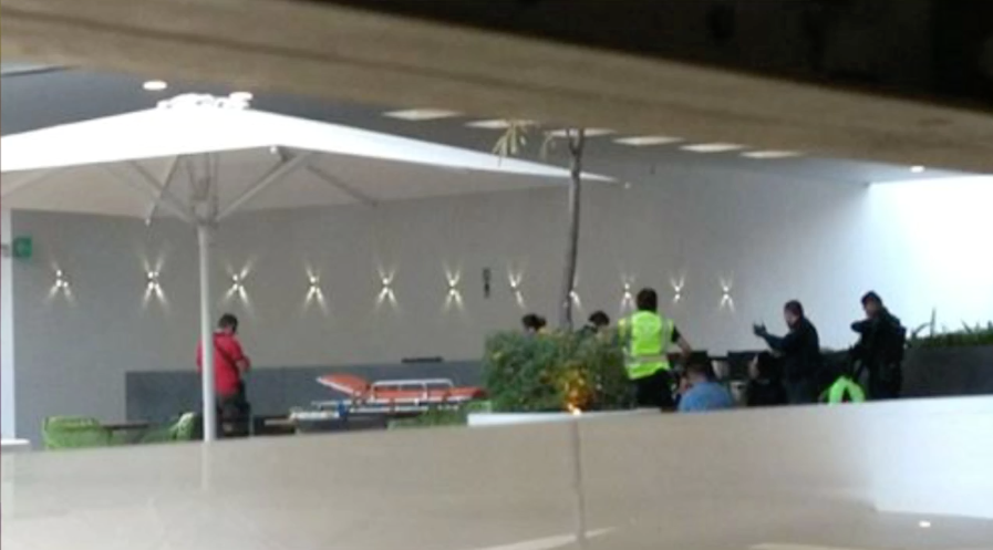 Balacera dentro de plaza Antea en Querétaro