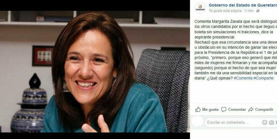 Campaña presidencial se financiará con recaudación y 'boteo': Zavala