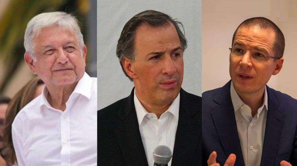 López Obrador se separa y Meade ya está en segundo: El Financiero