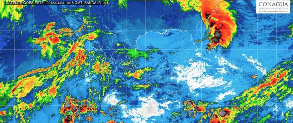 En la mayor parte del país predominarán lluvias y altas temperaturas