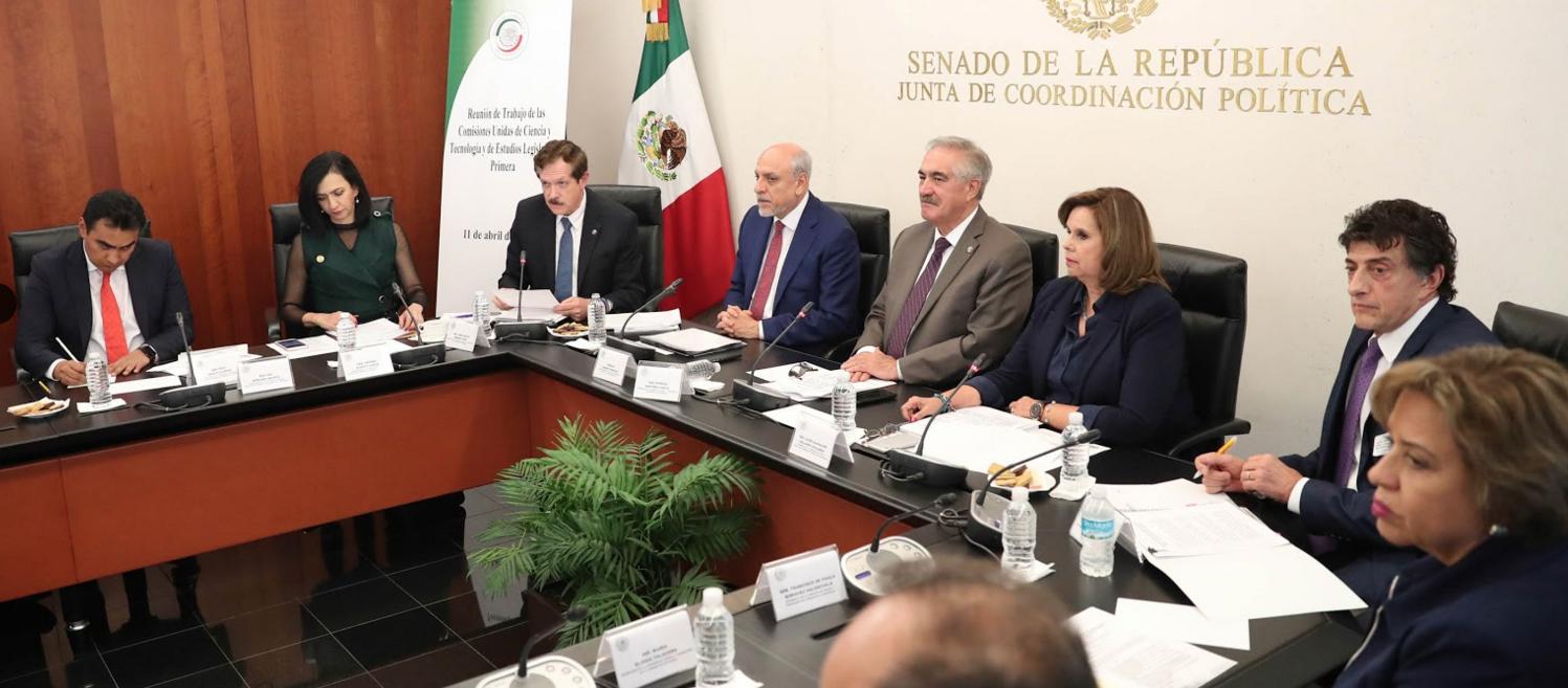 Analizan en el Senado la iniciativa de reforma a la Ley de Ciencia y Tecnología que presentó el Ejecutivo