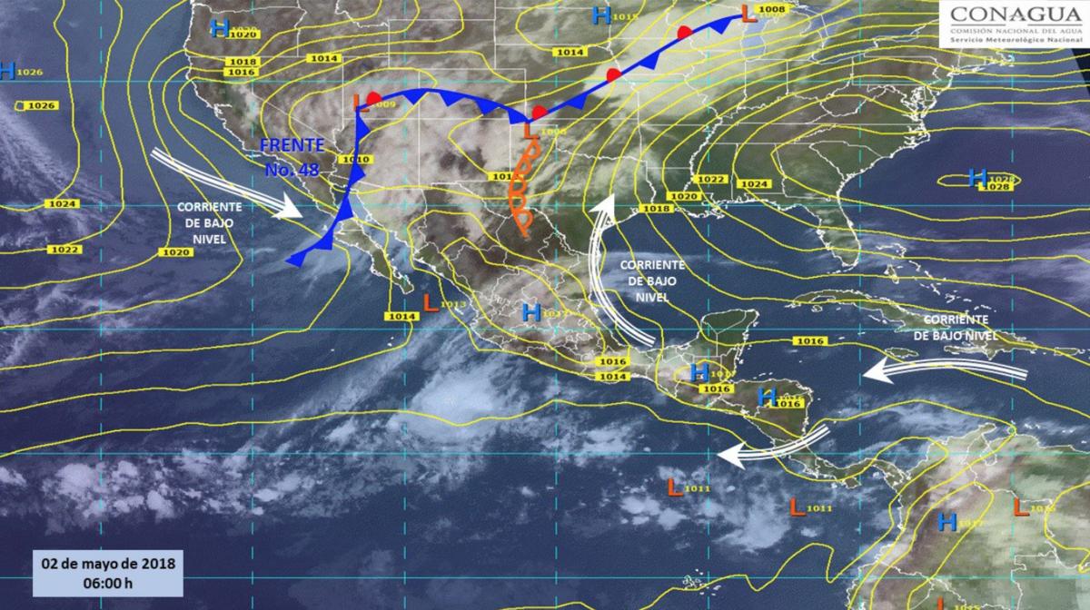 Continuarán lluvias y altas temperaturas en la mayor parte de México