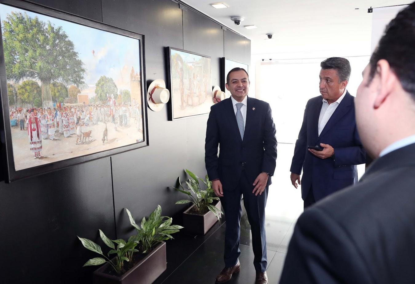 El Senado se ha consolidado como un espacio para expresiones artísticas y culturales del país: Ernesto Cordero