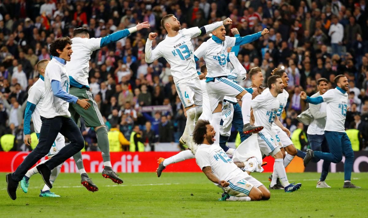 Real Madrid avanza a su tercera final consecutiva de la 'Champions'