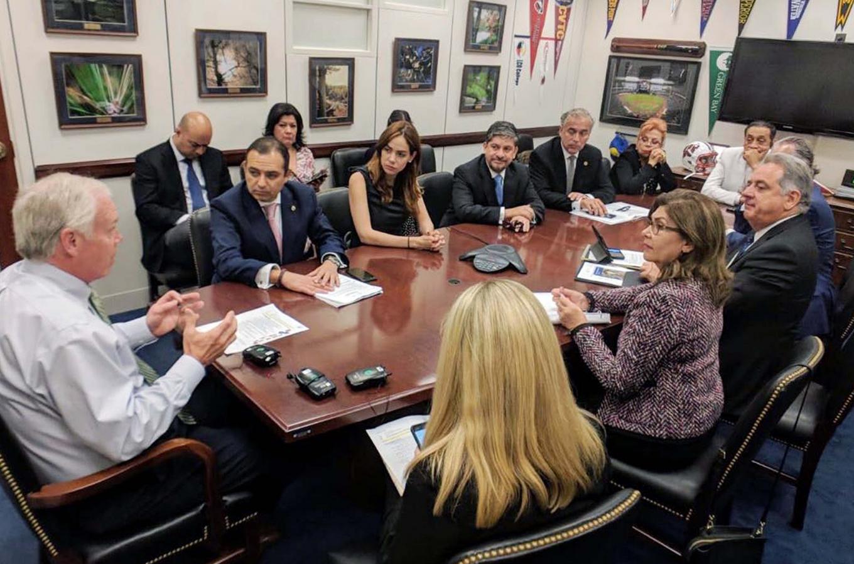 Concluye gira de trabajo de legisladores mexicanos en Washington