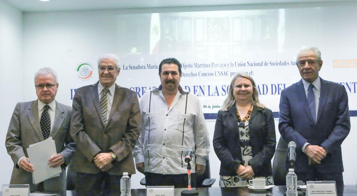 La cultura y el conocimiento sectores dinámicos de la economía mundial, señalan especialistas en el Senado