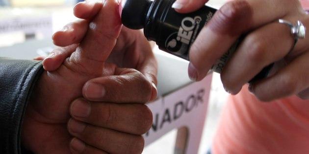 Vota en Querétaro 62% de la lista nominal