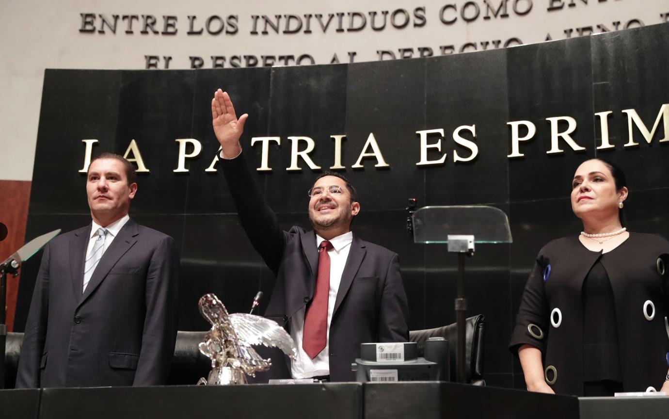 Poder Legislativo será protagonista del cambio político de México: Senador Martí Batres