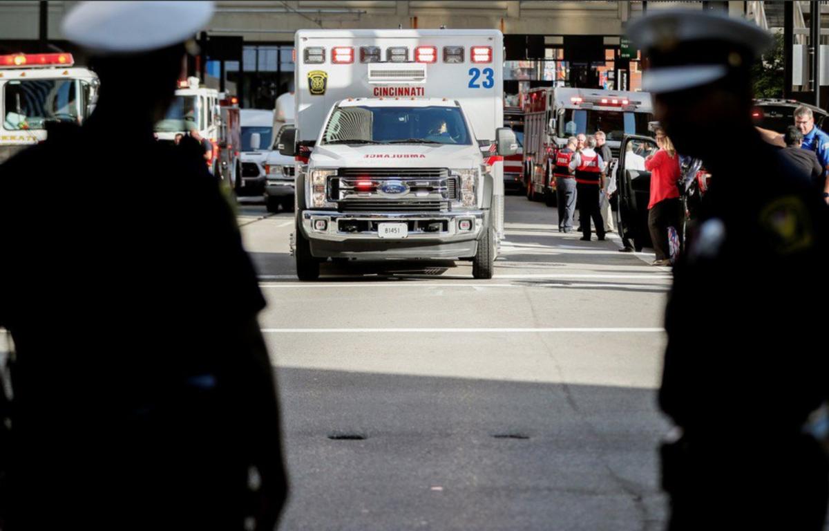 Tiroteo deja cuatro muertos durante tiroteo en banco de EEUU