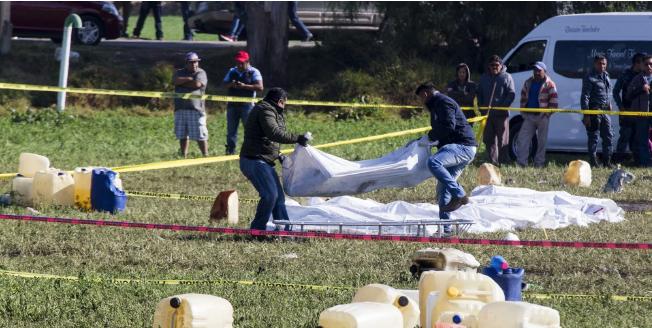 Son ya 100 los muertos por explosión en Tlahuelilpan