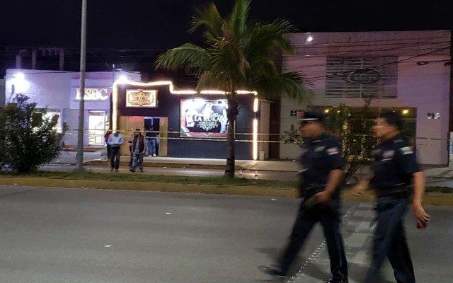 Cinco muertos en bar de Cancún