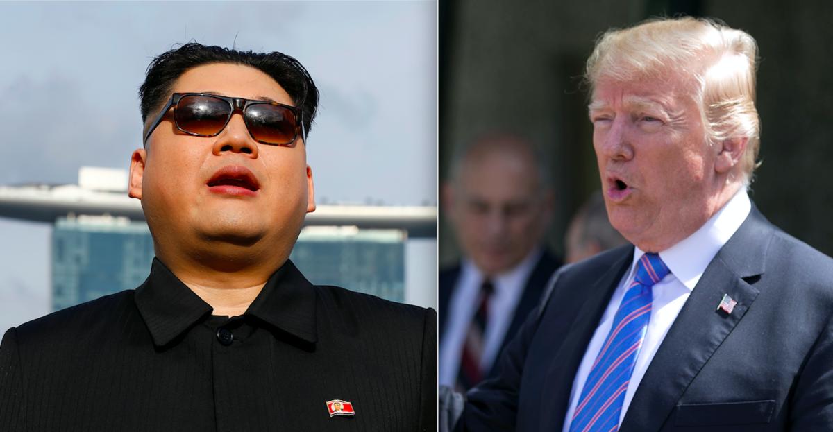 Llegan Trump y Kim a Singapur dos días antes de su histórica cumbre
