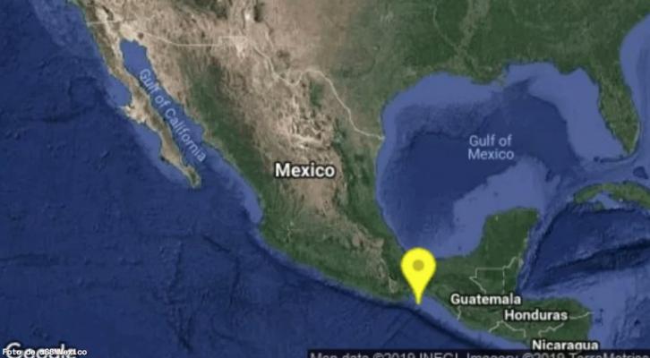Sismo magnitud 5.2 sacude Oaxaca